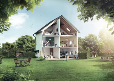 "Bosch – 360 Grad Kampagne ""Make it your home"""