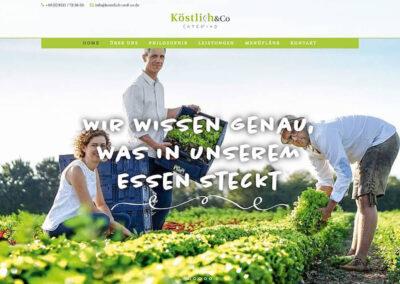 Köstlich & Co. – Website
