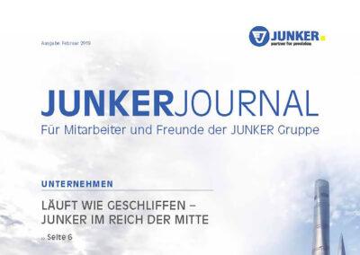 Junker Gruppe – Kundenmagazin
