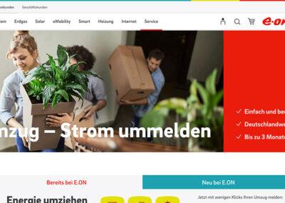 e.on – Content im Bereich Online-Services