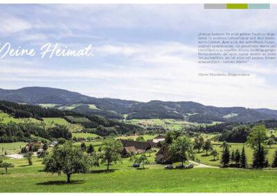 Zell am Harmersbach – Imagebroschüre fürs Stadtmarketing